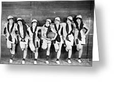 Silent Film Still: Sports Greeting Card