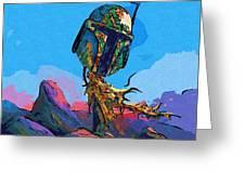 Star Wars Episode 5 Art Greeting Card