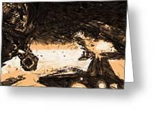 Star Wars Episode 6 Art Greeting Card