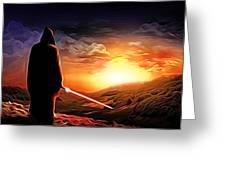 Star Wars Heroes Poster Greeting Card
