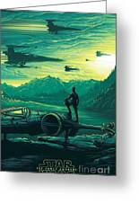 The Force Awakens Greeting Card