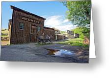 1863 H. S. Gilbert Brewery - Virginia City Ghost Town Greeting Card