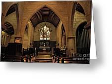 1865 - St. Jude's Church  - Interior Greeting Card