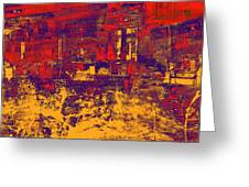 1872 Abstract Thought Greeting Card
