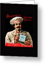1895 Shredded Codfish Breakfast Greeting Card