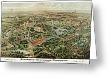 1897 Nashville Tennessee Greeting Card