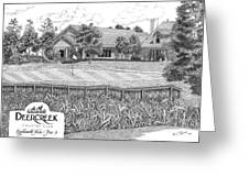 18th Hole - Deercreek Country Club Greeting Card