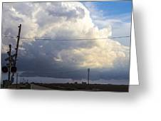 2nd Storm Chase 2015 Greeting Card