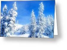 Landscape Color Greeting Card
