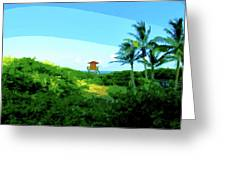 19- Shangri La Greeting Card