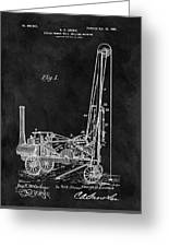 1902 Oil Well Patent Greeting Card