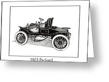 1903 Packard Greeting Card