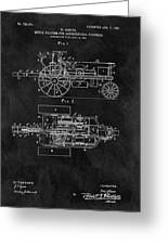 1903 Tractor Blueprint Patent Greeting Card