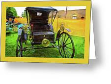 1906 Holsman Automobile Greeting Card