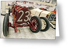 1907 Itala Gran Prix Race Car Greeting Card