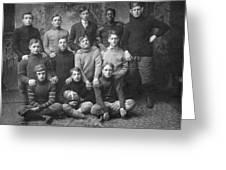 1908 Football Team Greeting Card