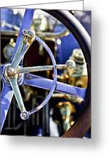 1910 Pope Hartford T Steering Wheel Greeting Card