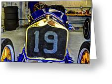 1911 National Speedway Roadster #19  Greeting Card