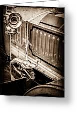 1912 Rolls-royce Silver Ghost Rothchild Et Fils Style Limousine Snake Horn -0711s Greeting Card