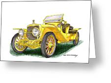 1913 Lozier Type 72 Briarcliff Painting By Jack Pumphrey