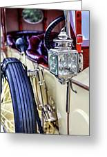 1913 Rolls Royce Silver Ghost Detail Greeting Card