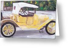 1915 Chevy Greeting Card