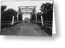 1915 Hudson Road Bridge Greeting Card