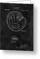 1916 Baseball Mitt Patent Greeting Card