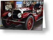 1917 American La France Type 12 Fire Engine Greeting Card by Wingsdomain Art and Photography