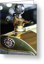 1917 Owen Magnetic M-25 Hood Ornament Greeting Card