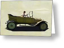 1918 Dodge Ww 1 Army Touring Vehicle Greeting Card