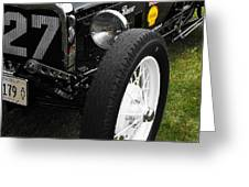 1920-1930 Ford Racer Greeting Card