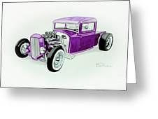 1920s Hotrod Pickup Greeting Card
