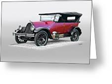 1922 Franklin Open Touring Sedan Greeting Card