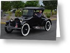 1922 Roadster Scharf Greeting Card