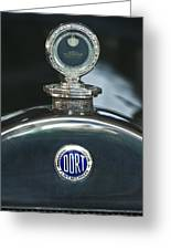 1923 Dort Sport Hood Ornament Greeting Card