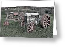 1923 Fordson Tractors Greeting Card