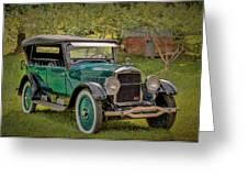 1923 Studebaker Big Six Touring Car Greeting Card