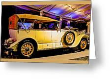 1925 Renault 40cv Tourer Greeting Card