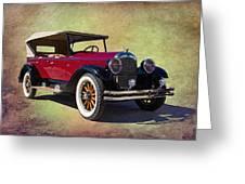 1926 Chrysler  Greeting Card