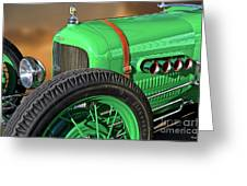 1926 Ford Model T 'dry Lakes' Roadster V Greeting Card