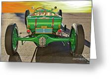 1926 Ford Model T 'dry Lakes' Roadster Vii Greeting Card