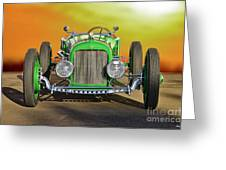 1926 Ford Model T 'dry Lakes' Roadster Viii Greeting Card