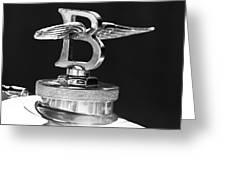 1927 Bentley 6.5 Liter Sports Tourer 3  Greeting Card