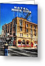 1927 Hotel Monte Vista - Flagstaff  Greeting Card