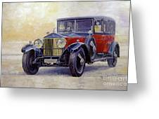 1927 Rolls-royce 40-50 Phantom 1  Greeting Card