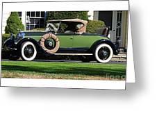 1928 -1931 Roadster Greeting Card