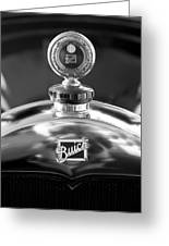 1928 Buick Hood Ornament 2 Greeting Card