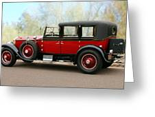 1928 Rolls-royce Phantom 1 Greeting Card