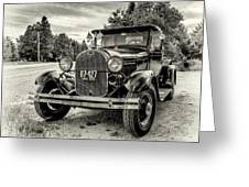 1929 Ford Model A Pickup Greeting Card